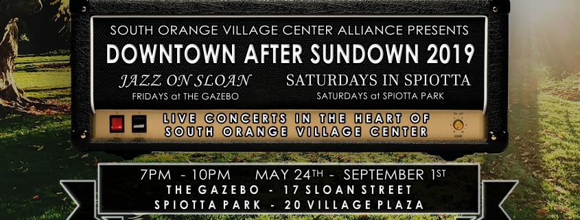 Live concerts in South Orange New Jersey. Event details can be found here at Hearth Realty Group.